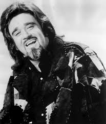 Wolfman Jack publicity portrait photo in black and white.